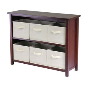 Verona Two Section N Storage Shelf