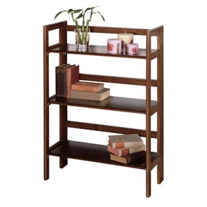 Three Tier Folding and Stackable Shelf