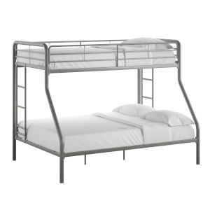 Brandy Gray Twin Over Full Bunk Bed