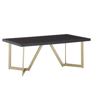 Helena Black and Gold Coffee Table