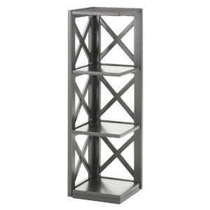 Tanya Gray X-Frame Three-Shelve Bookcase