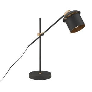 Nadia Black One-Light Table Lamp