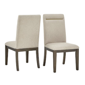Lenora Espresso Dining Chair, Set of Two
