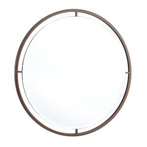 Cole Bronze Round Wall Mirror