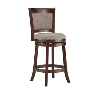 Romeo Grey Swivel Counter Stool