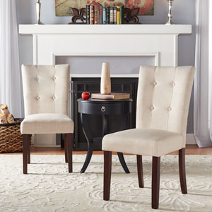 Pomeroy Button Tufted Side Chair, Set of 2
