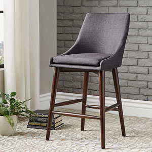 Corbel Mid Century Counter Chair, Set of 2
