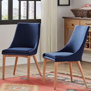 Corbel Mid Century Side Chair, Set of 2