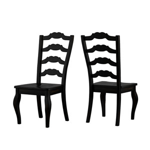 Adalee French Ladder Back Side Chair, Set of 2