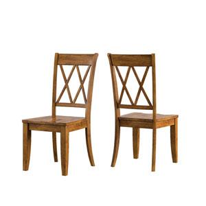 Adalee Panel Back Side Chair, Set of 2
