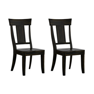 Adalee Panel Back Side Chair, Set of 2