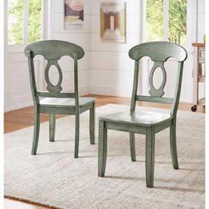 Adalee Napoleon Back Side Chair, Set of 2