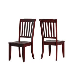 Adalee Slat Back Side Chair, Set of 2