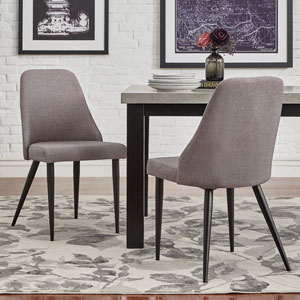 Akins Mid Century Side Chair, Set of 2