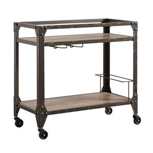 Barnes Industrial Bar Cart