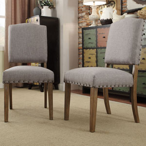 Needham Smoke Shield Back Dining Chair, Set of 2