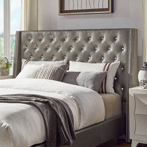 Sotello Crystal Tufted Queen Headboard