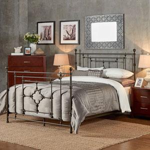 Storrie Victorian Quatrefoil Queen Bed