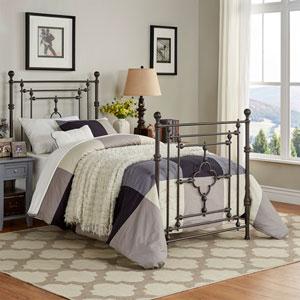 Storrie Victorian Quatrefoil Twin Bed