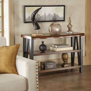 Canby Live Edge Console Table
