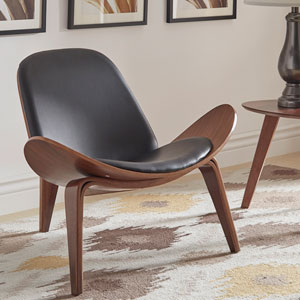 Rach Faux Leather Chair