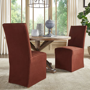 Cunningham Parsons Slipcovered Side Chair, Set of 2