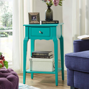 Eugenia 1-Drawer Accent Table