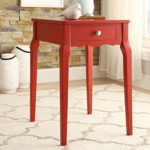 Eugenia 1-Drawer End Table