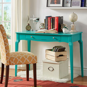 Eugenia 1-Drawer Writing Desk