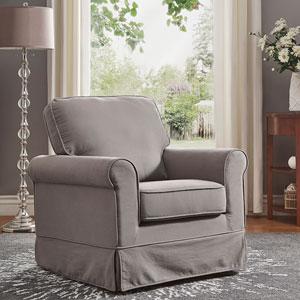 Gwyneth Grey Rocking Chair