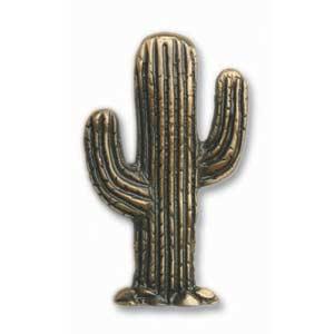 Antique Brass Cactus Knob