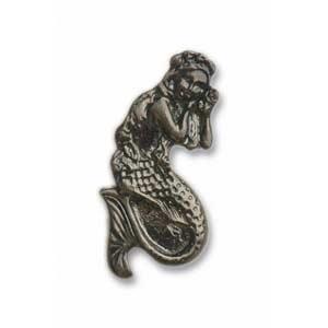 Pewter Mermaid Knob