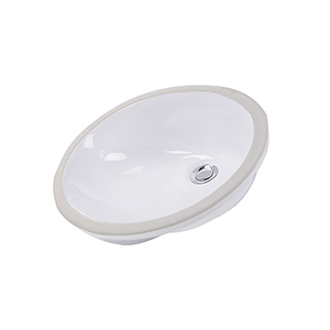 White Undermount Sink