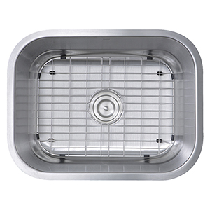 304 16 Gauge Stainless Steel Rectangle 23-Inch Undermount Kitchen Sink