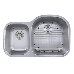 Sconset Brushed Satin Bathroom Sink