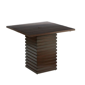 Epicenters Outdoor Cypress Bar Table