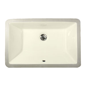 Great Point Bisque 19-Inch Undermount Ceramic Sink
