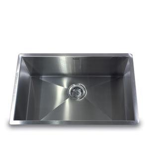 304 16 Gauge Pro Series Stainless Steel Large Zero Radius Single Bowl Undermount Kitchen Sink