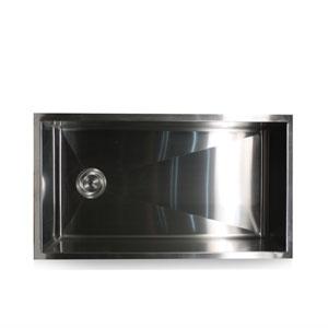 Pro Series Brushed Satin 32-Inch Single Bowl Undermount Kitchen Sink