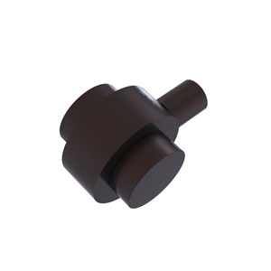 Antique Bronze Two-Inch Cabinet Knob