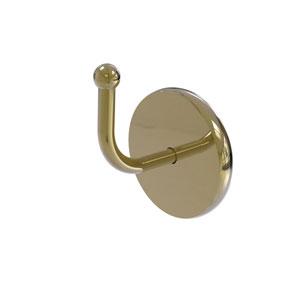 Skyline Unlacquered Brass Three-Inch Robe Hook