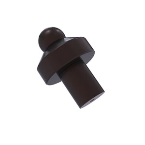 Antique Bronze One-Inch Cabinet Knob
