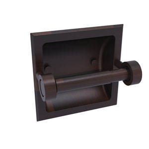 Continental Venetian Bronze Six-Inch Recessed Toilet Tissue Holder