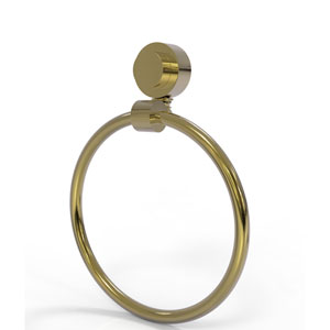 Venus Unlacquered Brass Six-Inch Towel Ring