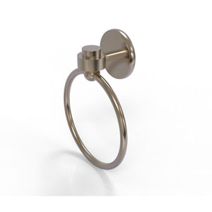 Satellite Orbit One Antique Pewter Two-Inch Towel Ring