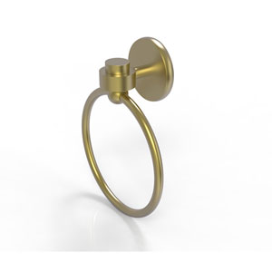 Satellite Orbit One Satin Brass Two-Inch Towel Ring