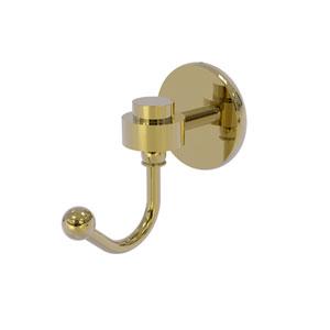 Satellite Orbit One Unlacquered Brass Three-Inch Robe Hook