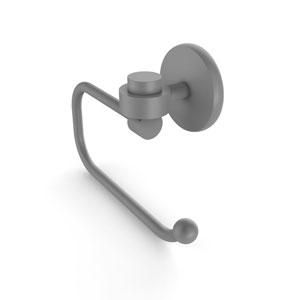 Satellite Orbit One Matte Gray Three-Inch Toilet Tissue Holder