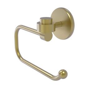 Satellite Orbit One Satin Brass Three-Inch Toilet Tissue Holder