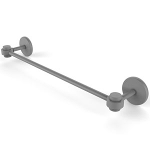 Satellite Orbit One Matte Gray 36-Inch Towel Bar
